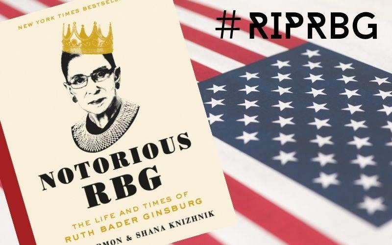 """ベストセラーになった""""Notorious RBG: The Life and Times of Ruth Bader Ginsburg"""""""""""